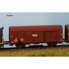 Exact-Train EX20904 - NS Gs-t 1430 Van G&L met bruine Luchtrooster Nr. 1220 581-6 IV