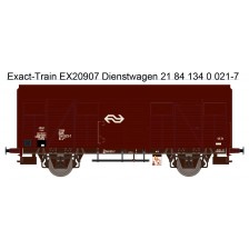 Exact-Train EX20907 - NS Gls 1440 Van Werkstattwagen mit braunen Luftklappen Epoche IV Nr. 1340 021-7