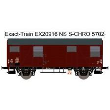 Exact-Train EX20916 - NS S-CHRO mit aluminium Luftklappen Epoche III Nr. 5702