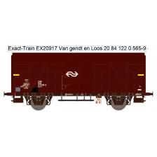Exact-Train EX20917 - NS Gs-t 1430 Van G&L mit braunen Luftklappen Epoche IV Nr. 1220 565-9