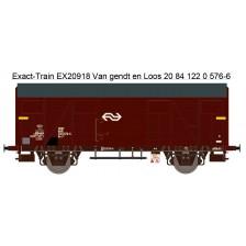 Exact-Train EX20918 - NS Gs-t 1430 Van G&L mit braunen Luftklappen Epoche IV Nr. 1200 576-6