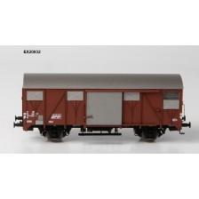 Exact-Train EX20932 - SBB CFF Gs mit aluminium Luftklappen Epoche IV Nr. 120 3592-2