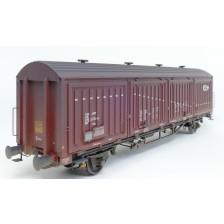Exact-Train EX22080 - NS Hbis EUROP, 8 Sicken, braun, weisser Streifen Epoche IV (Verschmutzt)