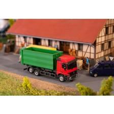 Faller 161493 - Vrachtwagen MB Actros LH'96 afrolcontainer
