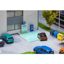 Faller 180280 - Laadstation voor elektrische voertuigen