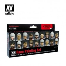 Vallejo 70.119 - Face Painting Set