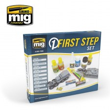 AMMO of Mig Jimenez MIG-7800 - First Steps Set