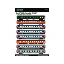 LS Models MW1806 - SBB 8-tlg. Personenwagenset L´arbalète 114-115