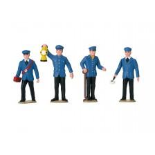 LGB 53001 - Set figuren spoorwegpersoneel Duitsland