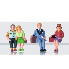 LGB 53006 - Figuren-Set Reisende sitzend