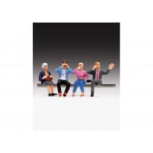 LGB 53008 - Figuren-Set Speisewagenfiguren sitzend