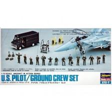 Hasegawa 35007 - U.S. Pilot/Ground Crew Set 1/72