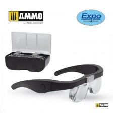 AMMO of Mig Jimenez 7397 - USB Led Glasses with 4 Lenses