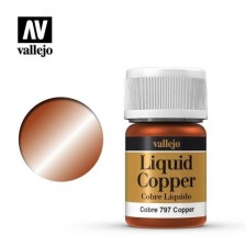 Vallejo 70.797 - Liquid Copper 218