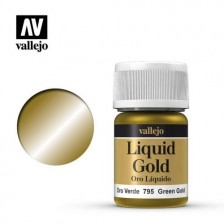 Vallejo 70.795 - Liquid Green Gold 216