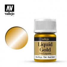 Vallejo 70.794 - Liquid Red Gold 215