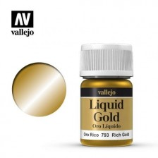 Vallejo 70.793 - Liquid Rich Gold 214