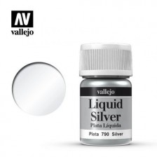 Vallejo 70.790 - Liquid Silver 211