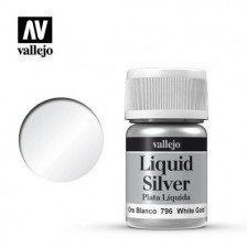 Vallejo 70.796 - Liquid White Gold 217