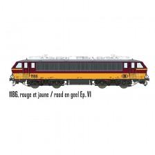 LS Models 12594S - SNCB/NMBS Elektrolokomotive 1186 HLE11 (AC Sound)