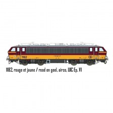 LS Models 12593S - SNCB/NMBS Elektrolokomotive 1182 HLE11 (AC Sound)