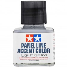 Tamiya 87189 - Panel Line Accent Color Light Gray