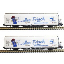 "Mabar 87519 - SBB 2-tlg Set Kühlwagen Hbbills-uy ""Graaff"" Limited Edition"