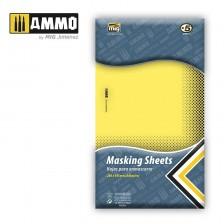 AMMO of Mig Jimenez MIG-8043 - Masking Sheets 280 x 195 mm (Adhesive)