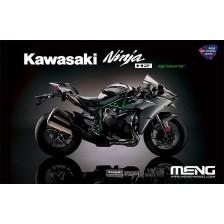 """Meng MEMT-002S - Kawasaki Ninja H2 """"pre-coloured edition"""" 1/9"""