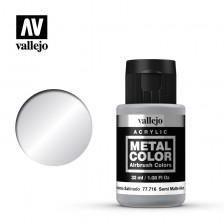 Vallejo Metal Color 77.716 - Semi Matt Aluminum
