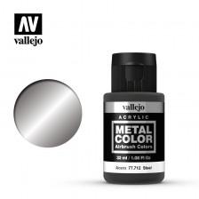 Vallejo Metal Color 77.712 - Steel