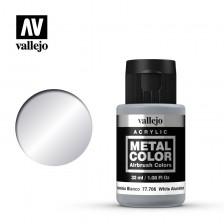 Vallejo Metal Color 77.706 - White Aluminum