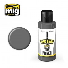 AMMO of Mig Jimenez MIG-2024 - One Shot Primer Grey