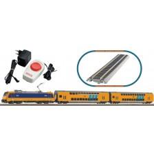 Piko 97939 - NS Startset Elektrische locomotief met 2 dubbeldeksrijtuigen (DC)