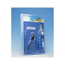 Model Craft PTK1010 - Pro Plastic Modelling Tool Set