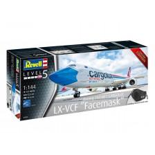 "Revell 03836 - Boeing 747-8F CARGOLUX LX-VCF ""Facemask"" 1/144"