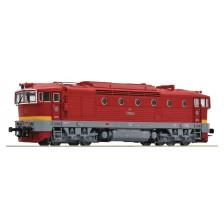 Roco 72947 - CSD Diesellokomotive Reihe T 478.3 (DCC Sound)