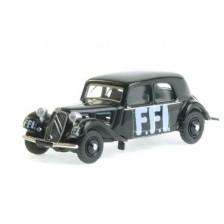 SAI 6170 - Citroën Traction 11A 1935, noire, FFI