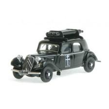 SAI 6181 - Citroën Traction 11A 1935, avec équipement gaz de ville, noire, FFI