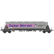 """NME 510660 - SBB Cargo Getreidesilowagen Tagnpps 96,5 """"Zuckerwerbung"""" (AC)"""