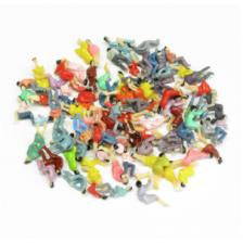 Digikeijs DR60120-H0 - 100 gekleurde zittende figuren H0