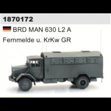 Artitec 1870172 - BRD MAN 630 L2 A Fernmelde u. KrKw GR (kit)