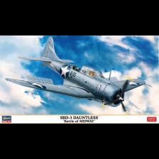 "Hasegawa 07481 - SBD-3 Dauntless ""Battle of Midway"" 1/48"