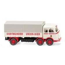 """Wiking 42903 - Pritschen-Lkw (MB LP 333) """"Dortmunder Union"""""""