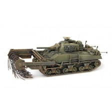 Artitec 387.117 - Sherman M4A4 Crab, mine clearing tank, UK / US