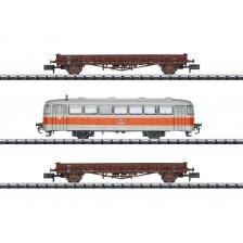 """Trix 15091 - Düsseldorfer S-Bahn Wagen-Set """"Streckenbesichtigung"""""""
