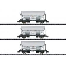 """Trix 15511 - NS Güterwagen-Set """"Seitenentladewagen"""" ARMITA WAGONS"""