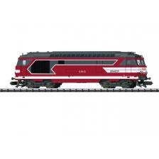 "Trix 16706 - SNCF Diesellokomotive Serie BB 67400 ""Livree Capitole"" (DC)"