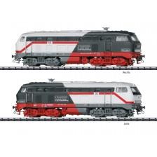 """Trix 16825 - DB Diesellokomotive 218 497-6 """"FZI Cottbus PIKO/Märklin"""" (DCC Sound)"""