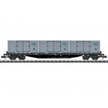 Trix 18431 - DR Flachwagen Bauart Rgs 3910